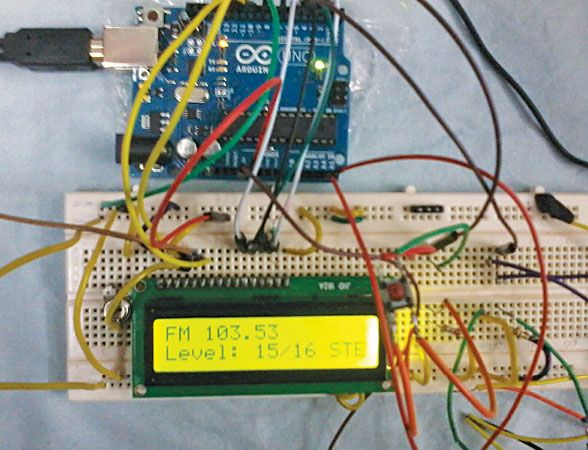 This project is of an FM radio based on Philips TEA5767 digital
