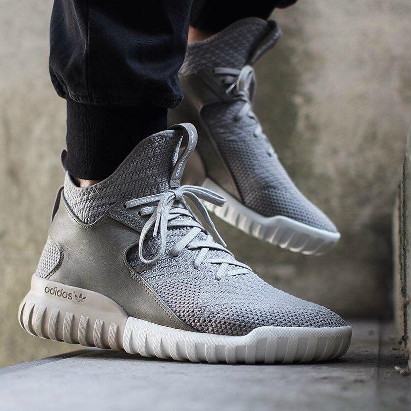 "43dcf9339c6 HYPEBEAST no Instagram  "" copordrop     adidasoriginals Tubular X Primeknit  Sesame White Vintage. Photo    asphaltgold sneakerstore"""