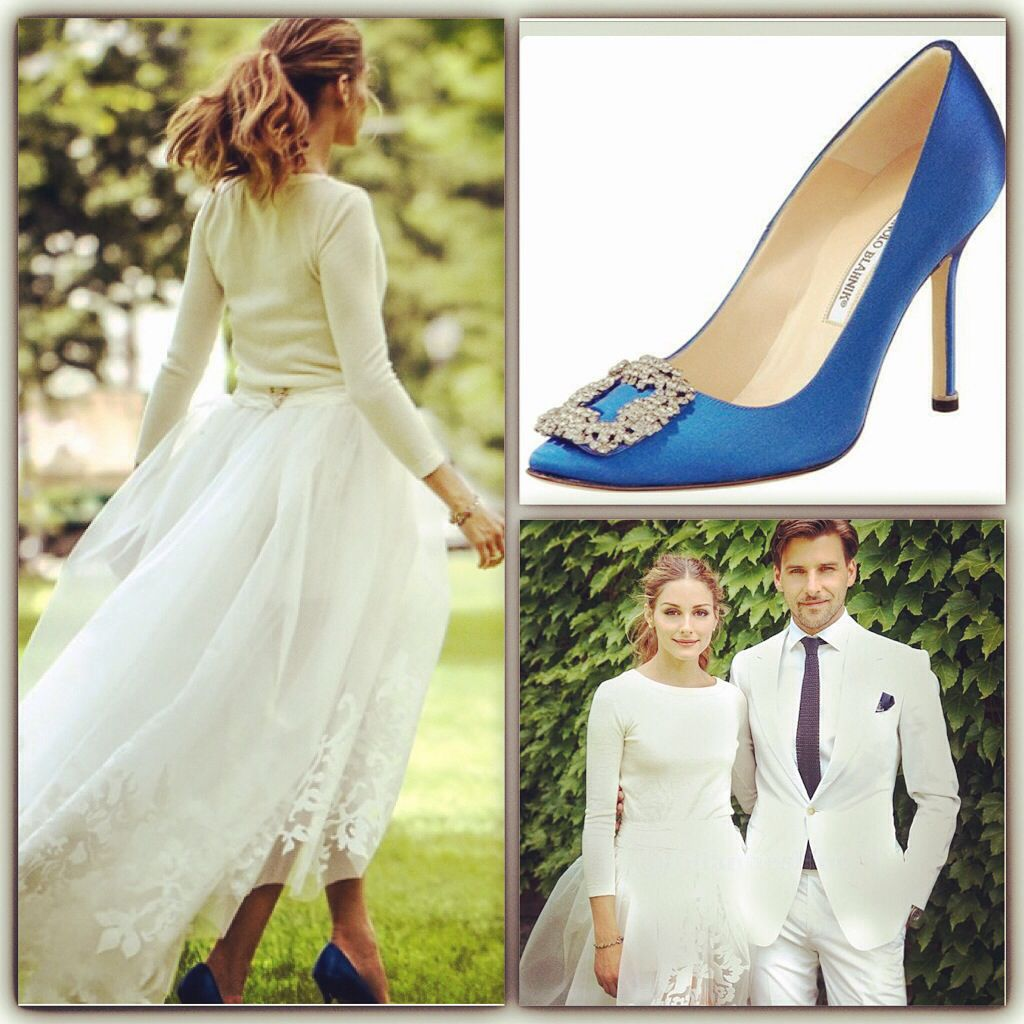 Olivia Palermo Civil Wedding - just like Carrie Bradshaw, when she