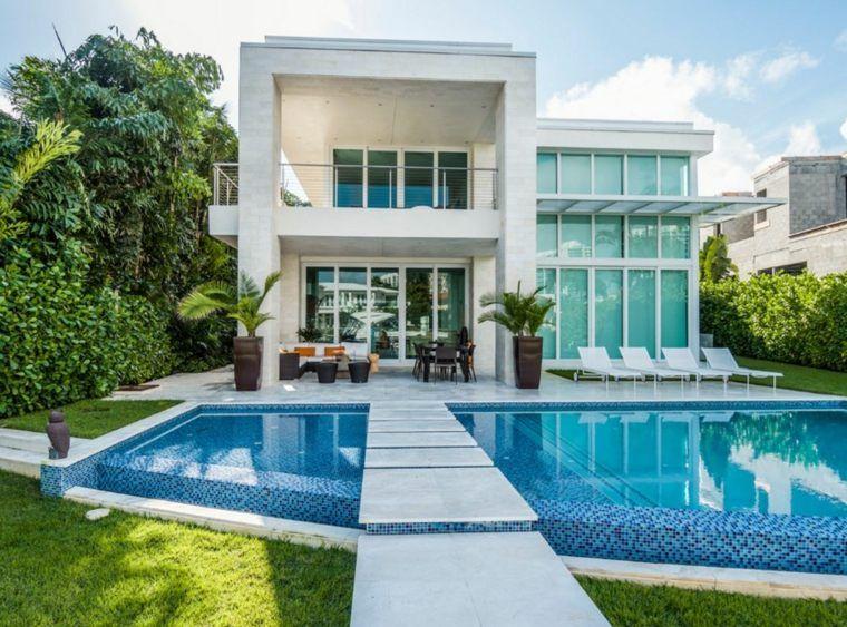 piscine - 100 piscines de design contemporain - photo d amenagement piscine