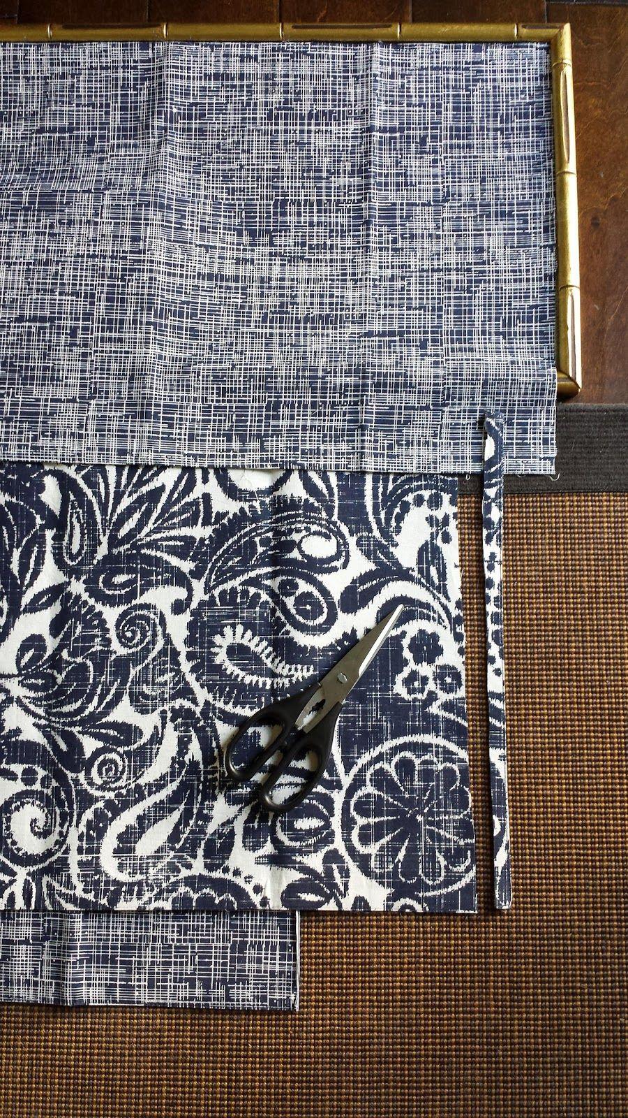 Diy indigo wall art with framed fabric framed fabric