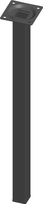 Element System 4 Stück Stahlrohrfüße eckig, Amazon, 12,79