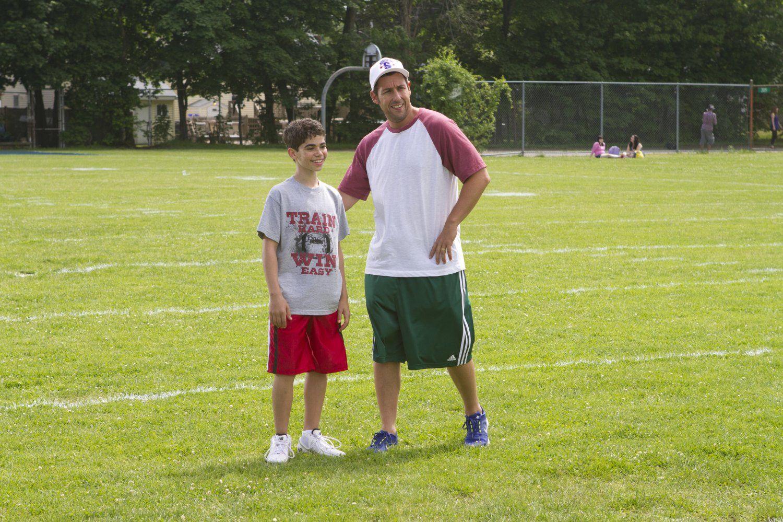 Adam Sandler And Cameron Boyce In Grown Ups 2 2013 Cameron Boyce Adam Sandler Grown Ups 2