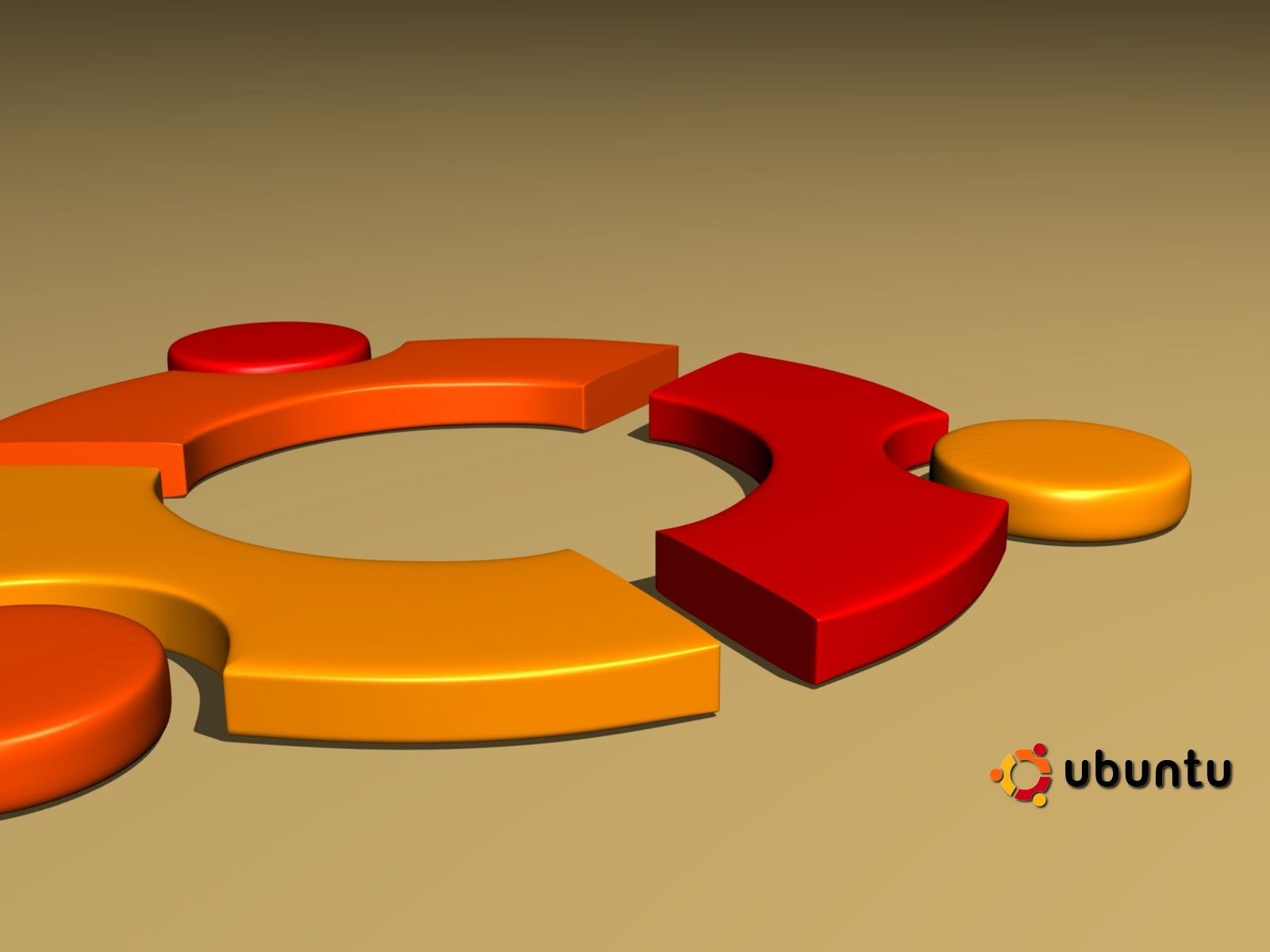 ubuntu 3d logo wallpaper hd httpimashon combrands