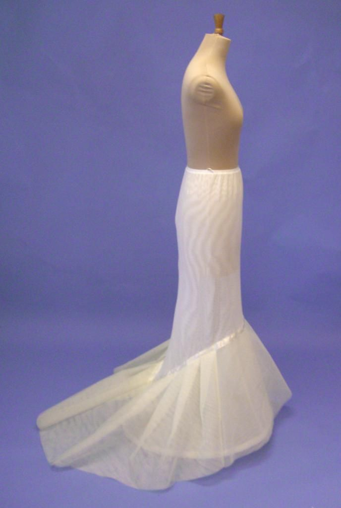 BR21. Richard Designs. Fishtail/mermaid petticoat with flat front ...