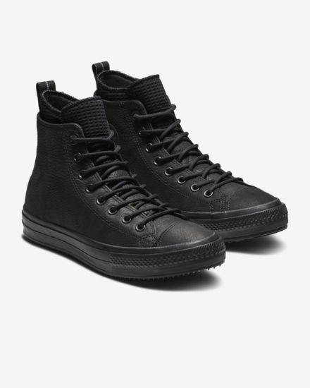 fd2e62a5156 Converse Chuck Taylor All Star Waterproof Leather High Top Boot Unisex  Leather Boot