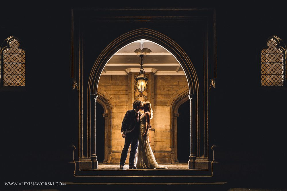 A lovely night portrait at the Honourable Society of Lincoln's Inn #wedding #portraits #wedding photos Best wedding Photographer London