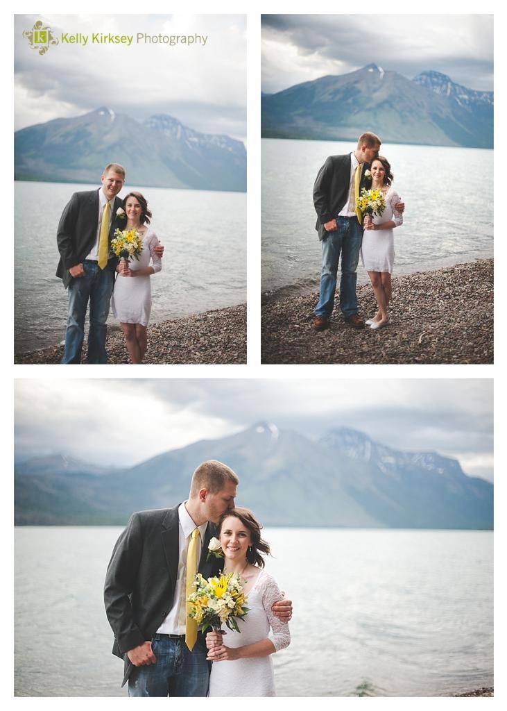 Glacier Elopement - Kelly Kirksey Photography