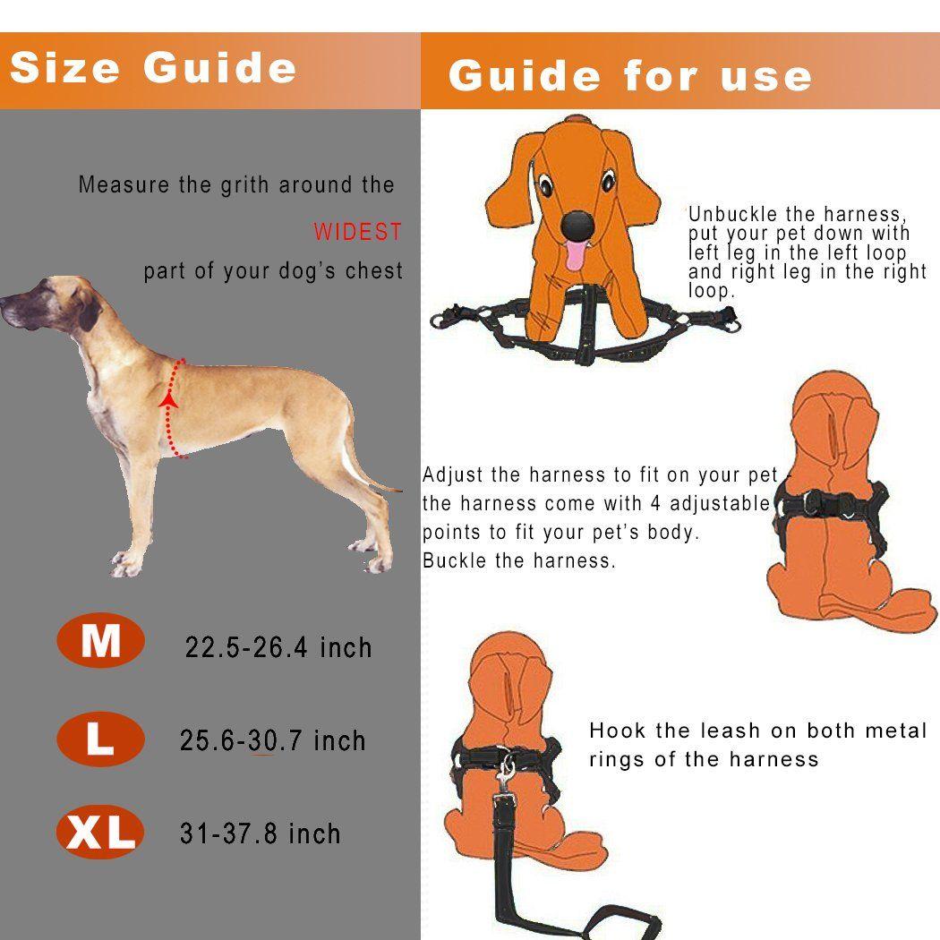 Cropal Dog Leash Harness With Traffic Handle Reflective Super Soft