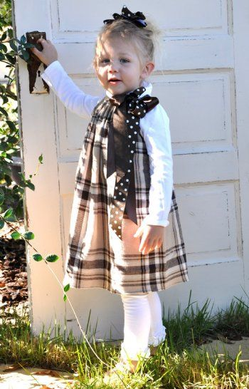 Pillowcase dress looks so cute for fall when paired with a simple turtleneck shirt.