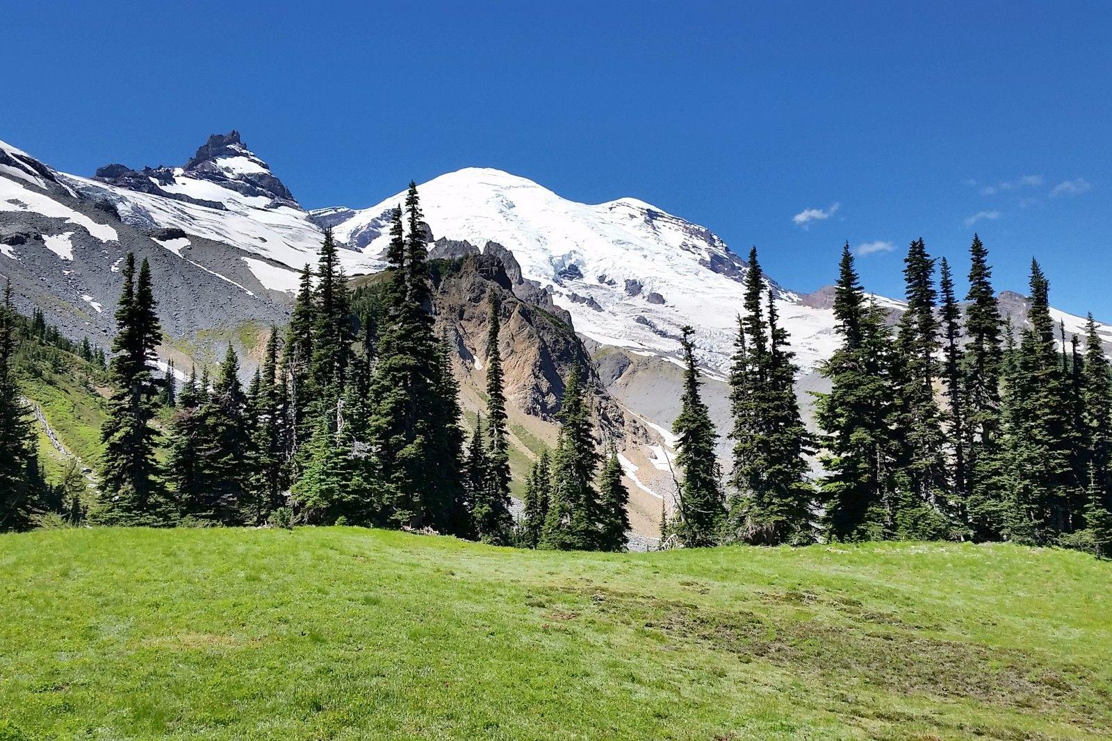 Mount Rainier u from Summerland Mount Rainierus Best Day
