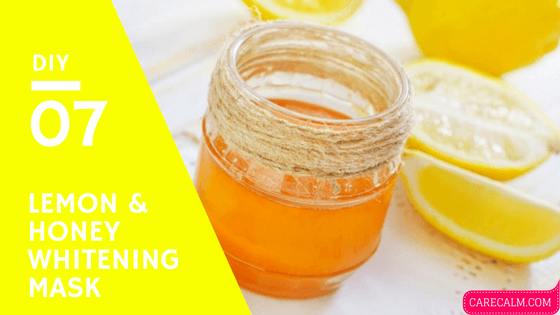 Apply this honey and lemon face mask and see your
