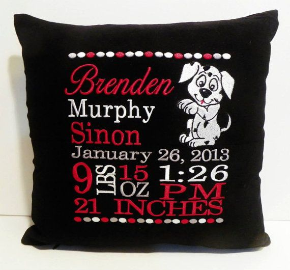 Items similar to Personalized Gift, Pillow, Embroidered Gift,Monogrammed  Pillow, Mom Pillow on Etsy