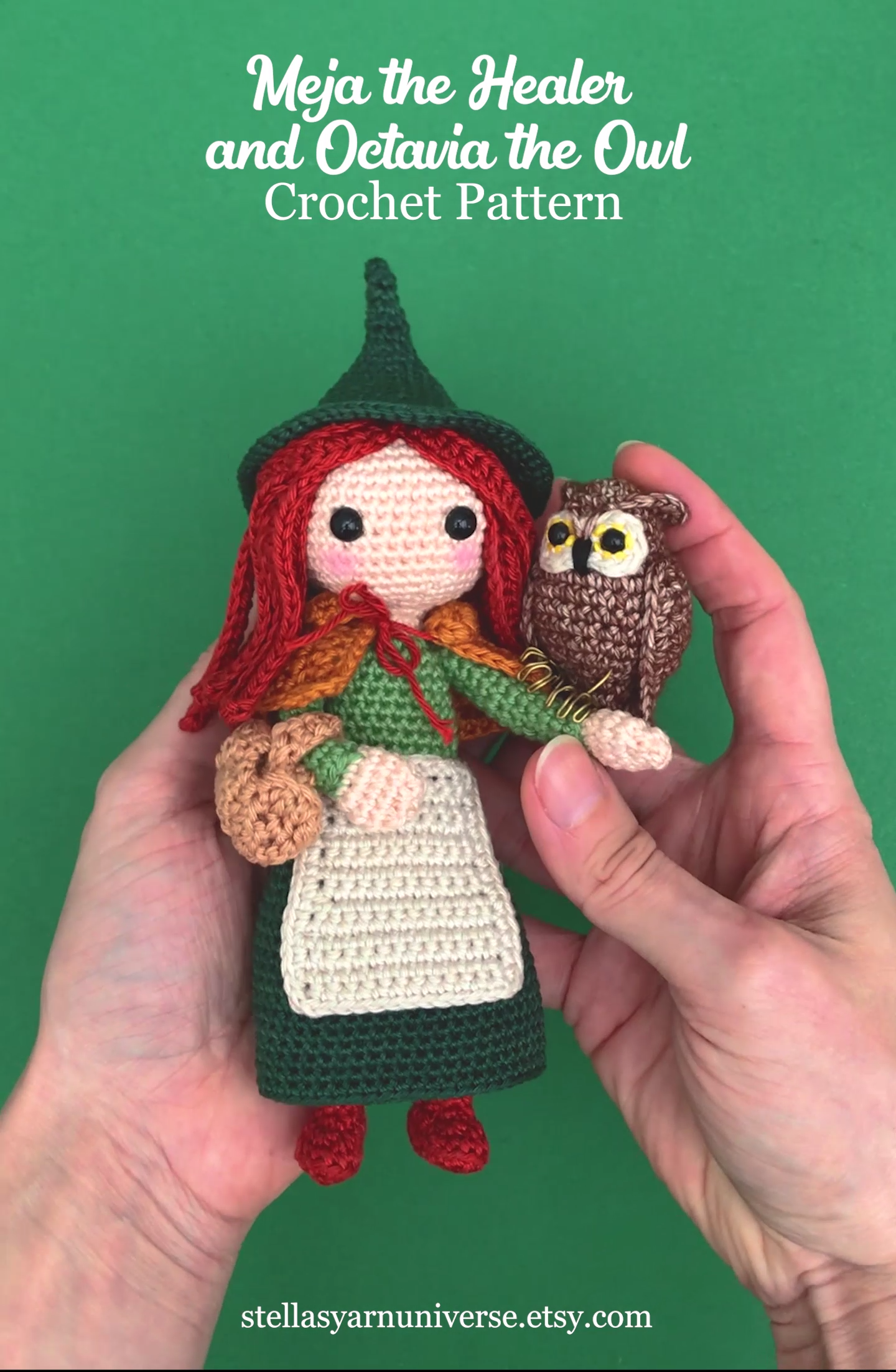 Photo of Doll Amigurumi Pattern, Owl Crochet Pattern