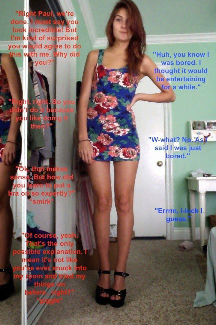 Lost bet wear pantyhose-5912