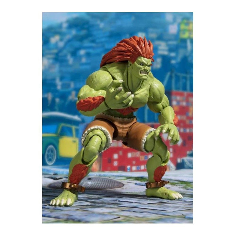 Tamashii Nations Bandai S.H.Figuarts Blanka Street Fighter Action Figure