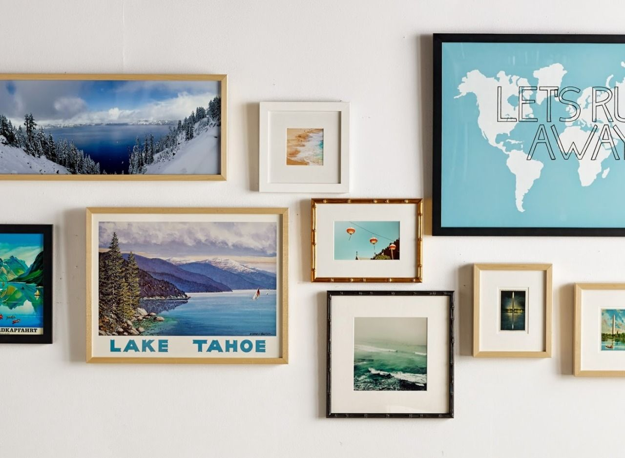 Tahoe theme gallery wall pinterest gallery wall and walls