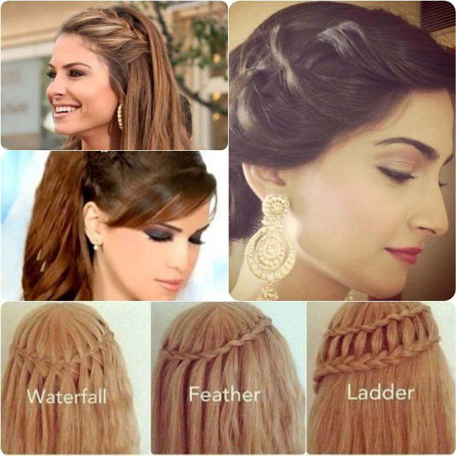 Eid Hairstyle 2017 Step By Step For Pakistani Girls Ladies Hair Style Video Hair Styles Girls Hairstyles Easy