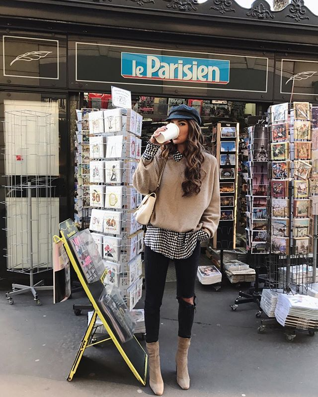 7 Outfit Ideas to Copy From Instagram This Week #parisianstyle