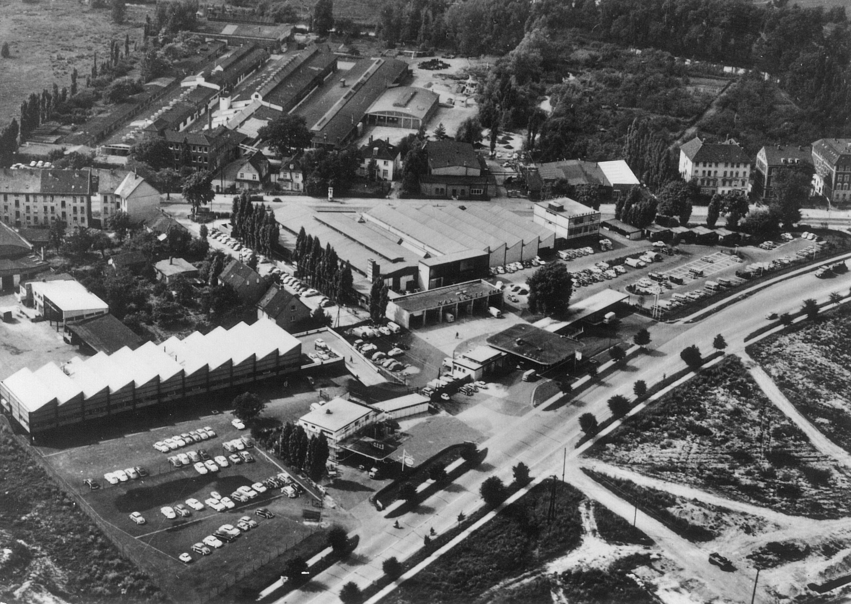 Voets Braunschweig Wolfenbütteller 1962 Von Oben
