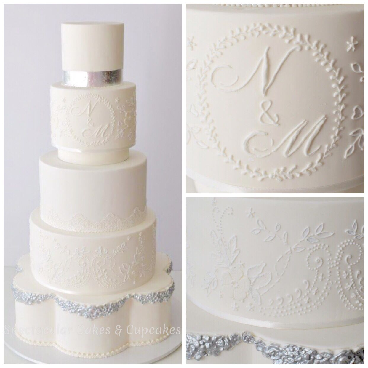 Sydney 5 tier wedding cakes | Wedding & Engagement Cakes Sydney ...