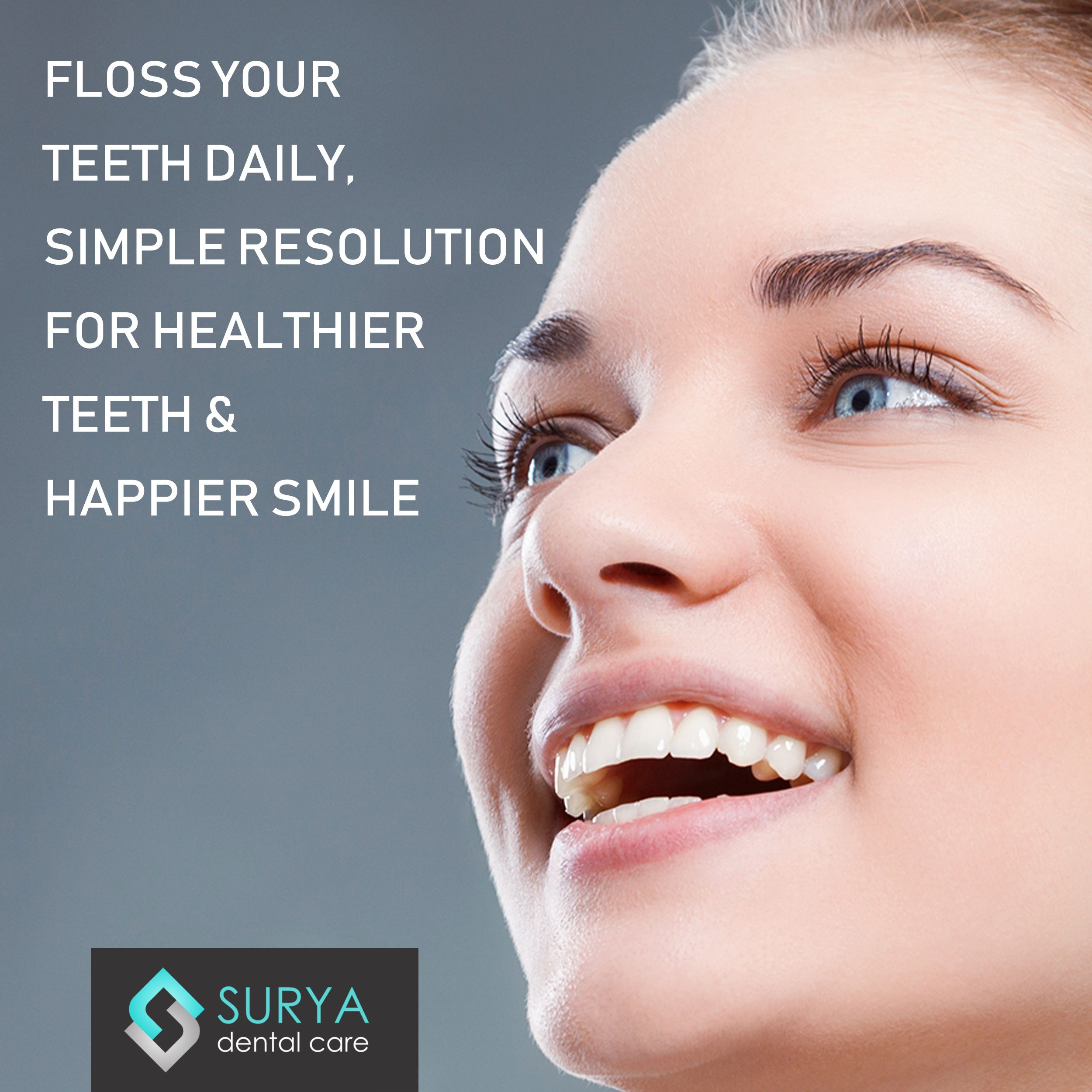 Flossing is the other oral habit that is powerful to