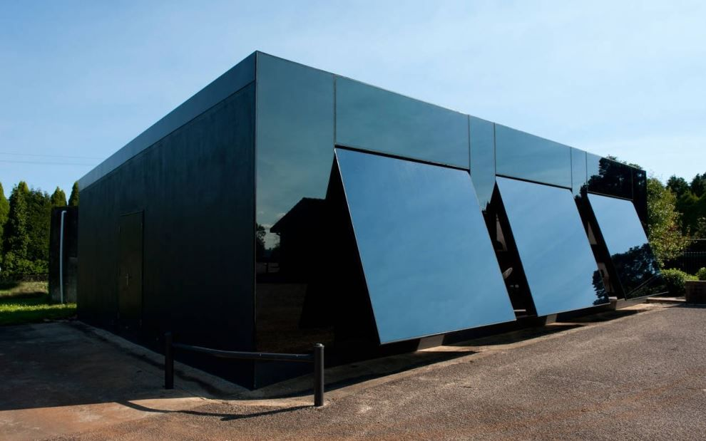 7 Buildings Using Garage Doors In Places You Wouldnu0027t Expect   Architecture  And Design
