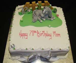 Image Search Results for birthday cakes with horses