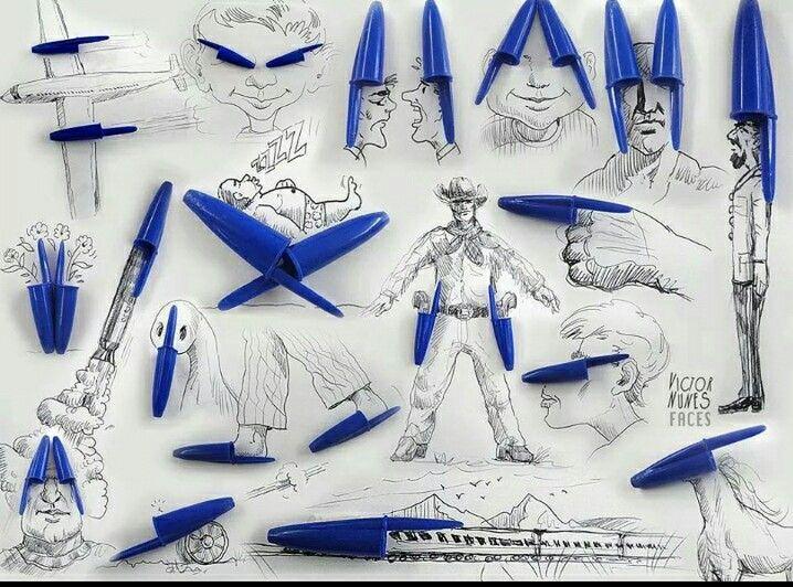 Creabea met pennendoppen