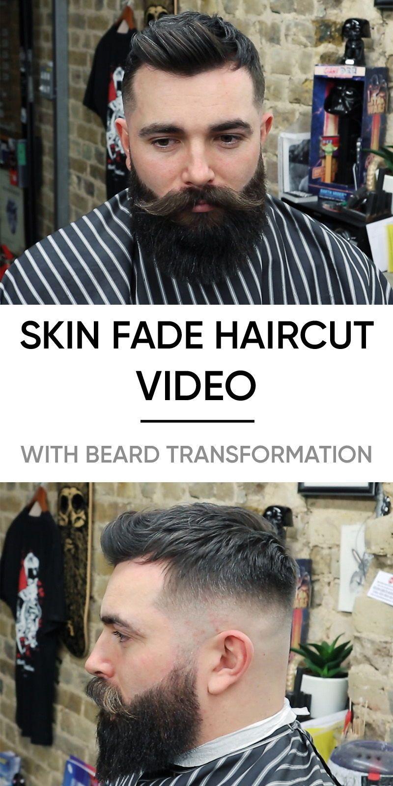 Epic Skin Fade Haircut Beard Trim Video Arbi Pinterest Hair