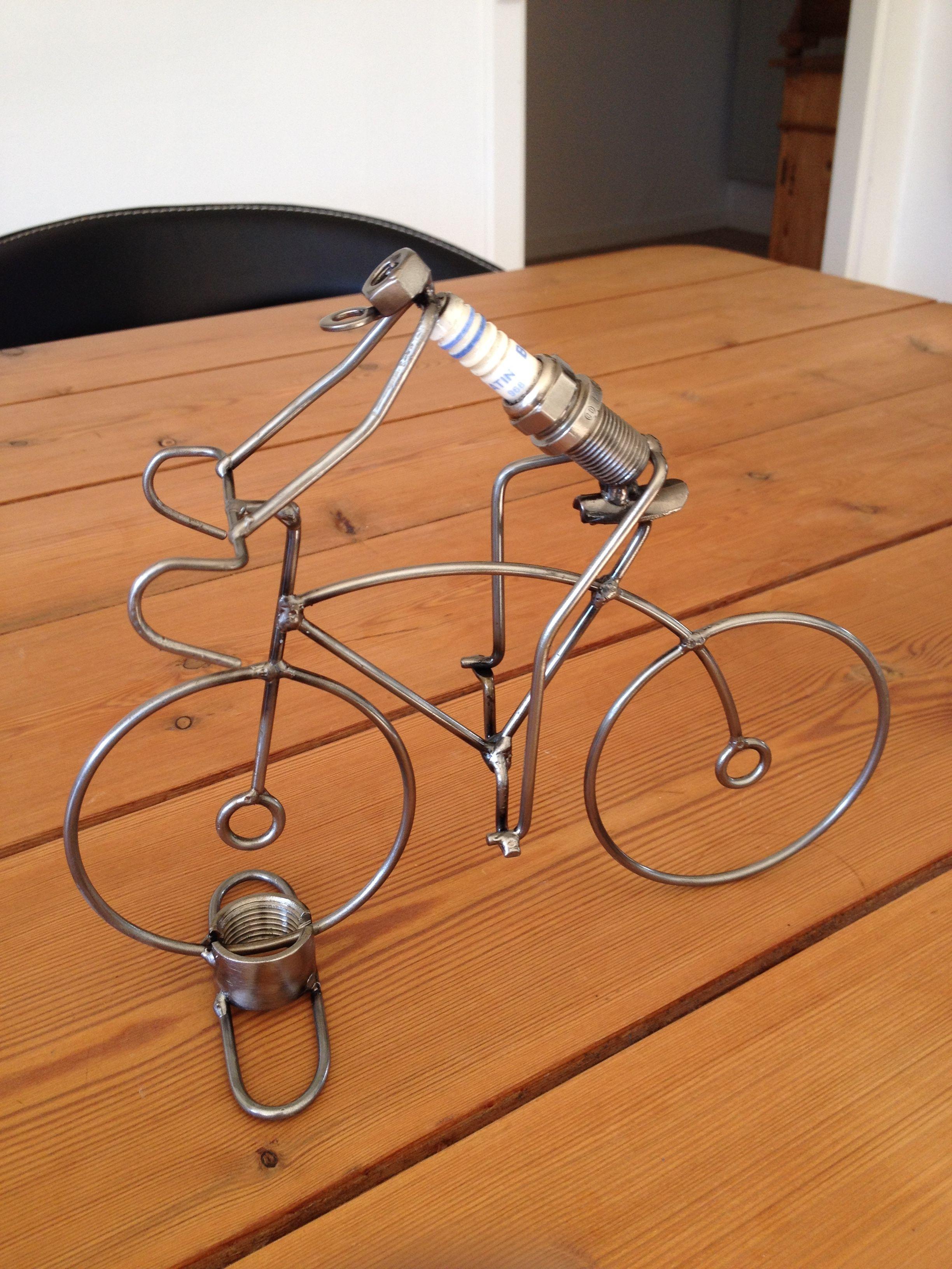 Bicicleta de arame | Wire art, Metals and Craft