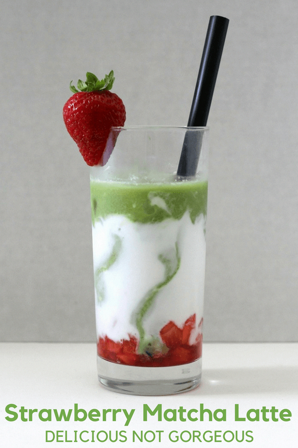 Strawberry Matcha Latte Delicious Not Recipe