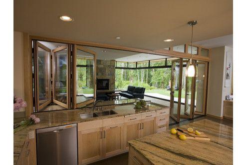Nanawall Kitchen Transition Google Search Outdoor Kitchen Design Contemporary Kitchen Outdoor Kitchen