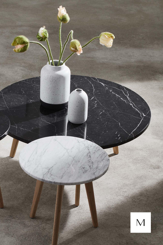 Table Basse Lara Noir Madura Table Basse Console Plateau En Marbre