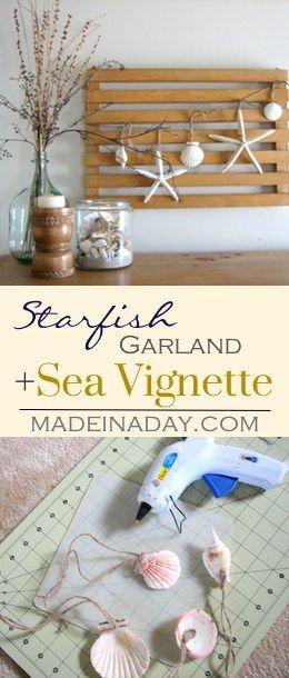 Photo of Starfish Garland Vignette