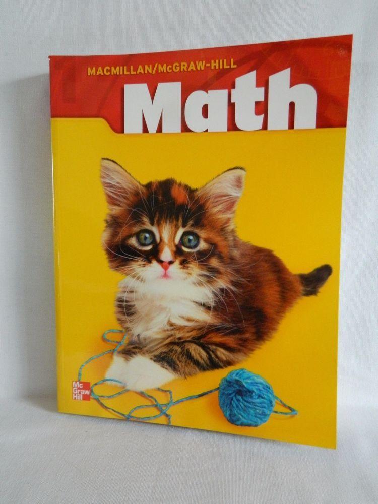 Math Grade 1 Student Workbook Ln Macmillan Mcgraw Hill New Condition Mcgraw Hill Math Mcgraw Hill Education Mcgraw Hill