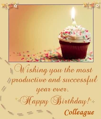 Birthday Wishes for Colleague Birthday Images Messages and – Birthday Greetings to a Colleague