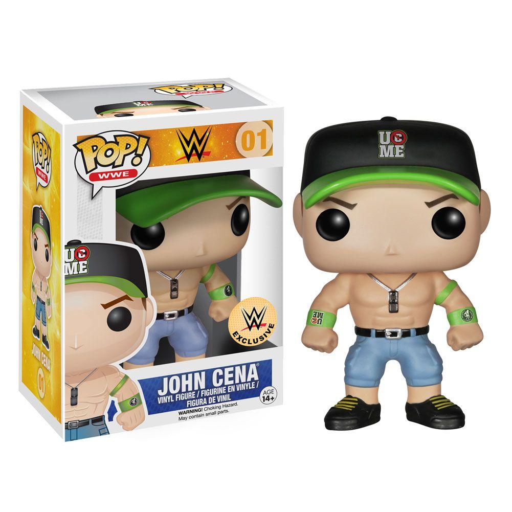 Keychain Mini Vinyl Figure Keyring NEW WWE Wrestling John Cena Funko Pocket Pop