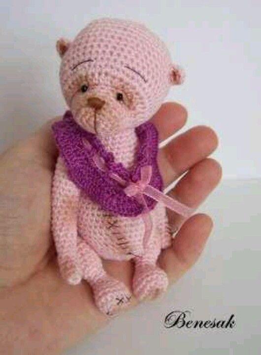Louisa May/Benesak/ebay ♡ | ♡ Crochet Mini Bears ♡ | Pinterest ...
