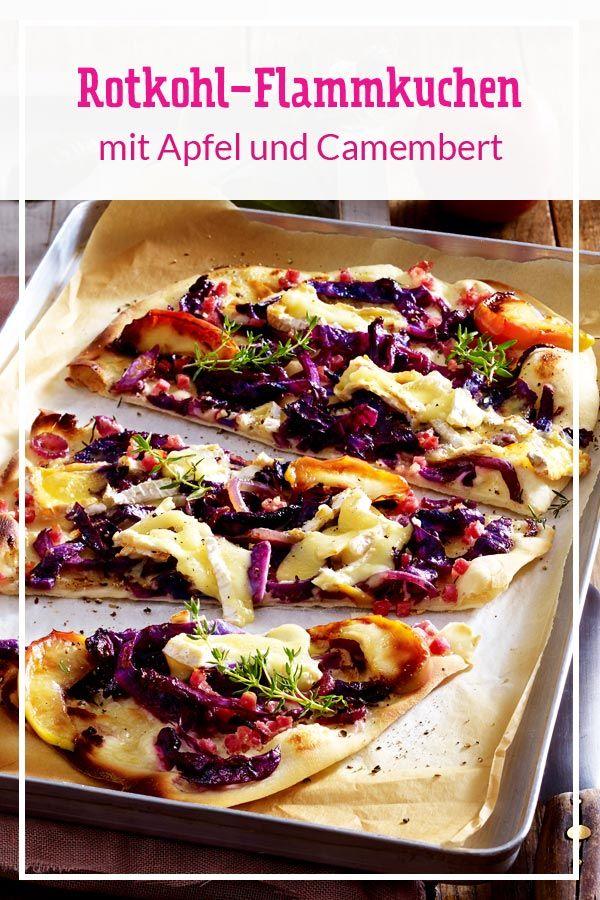 Rotkohl-Flammkuchen mit Camembert Rezept | LECKER #cajundishes