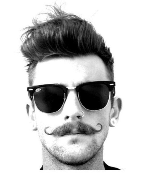 1b8e0e2ba A handlebar mustache is hipster cool. | my lovecraft (beauty ...