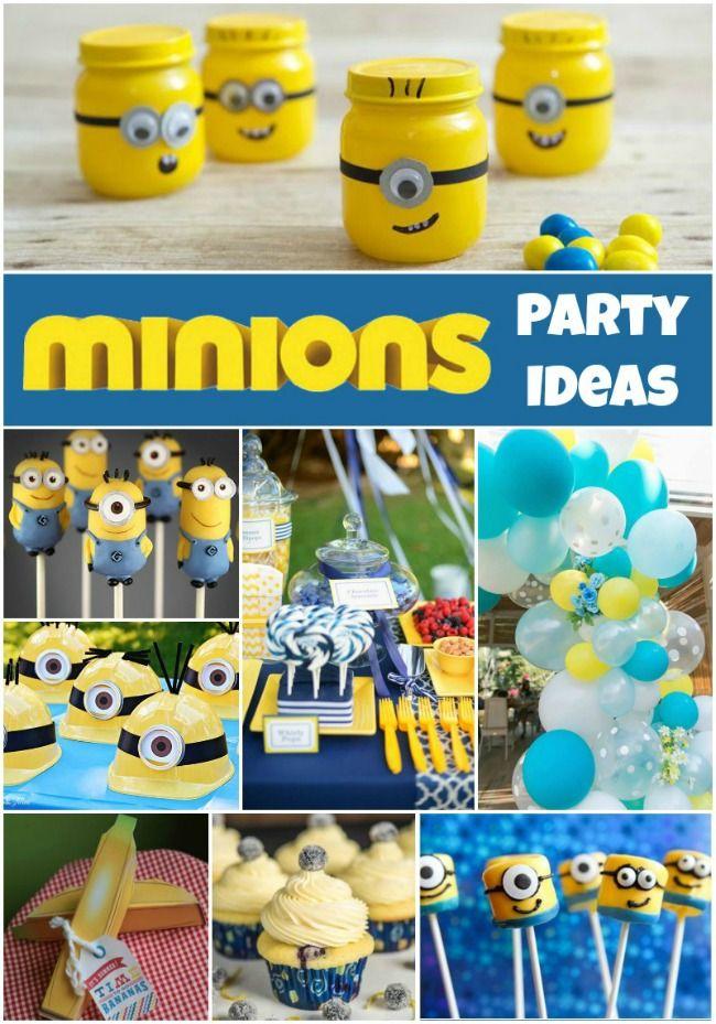 minions party ideas birthday minion party minion. Black Bedroom Furniture Sets. Home Design Ideas