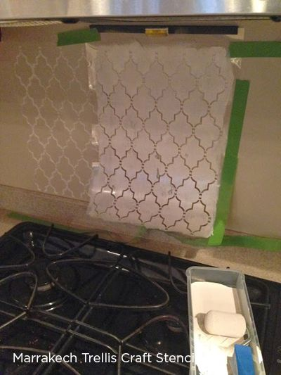 Cutting Edge Stencils shares stenciled kitchen backsplash ideas to show how stenciling this space can be a simple yet cost effective way to enhance the ... & Spice Up Your Kitchen Backsplash With A Stencil | Projects to make ...