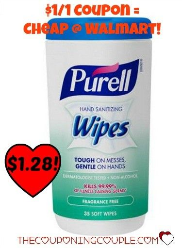 Reset Purell Hand Sanitizing Wipes Only 1 28 Walmart
