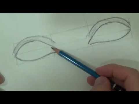 تعليم الرسم للمبتدئين كيفية رسم العيون بطريقة سهلة جدا Youtube Anime Art Beautiful Drawings Art Sketches