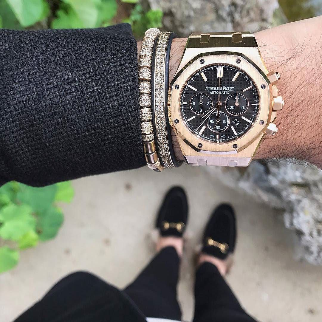 Wristgame ready for wednesday night with a lovely audemarspiguet