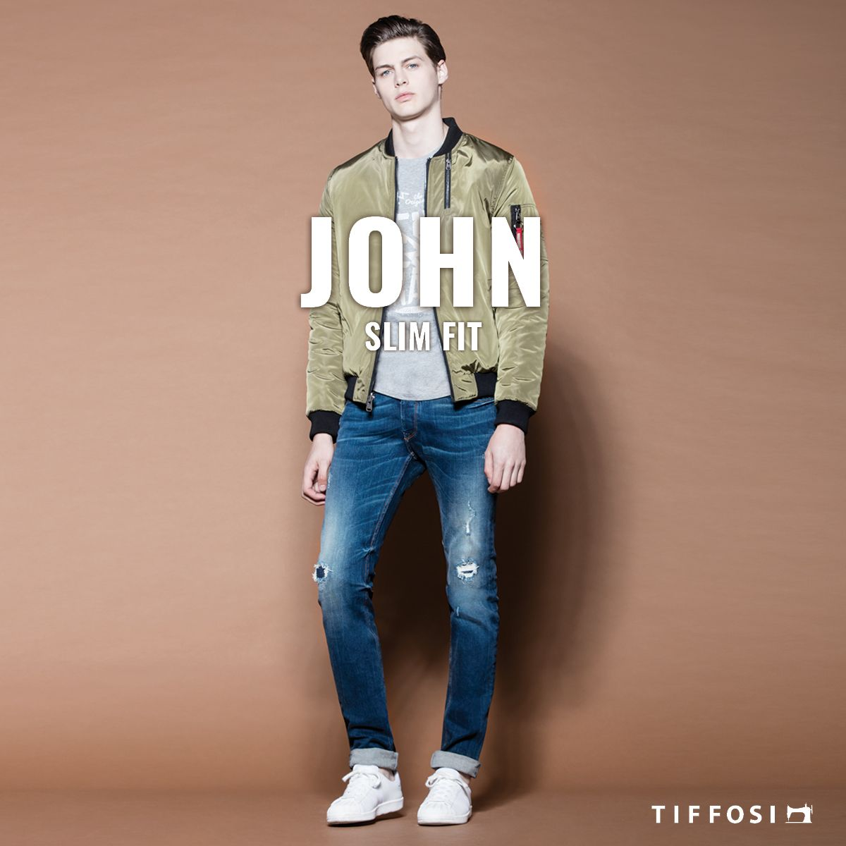 🆕  John - Slim Fit 🆕  #tiffosi #tiffosidenim #newin #fit #fitguide #denim #denimguide #denimcollection #jeans