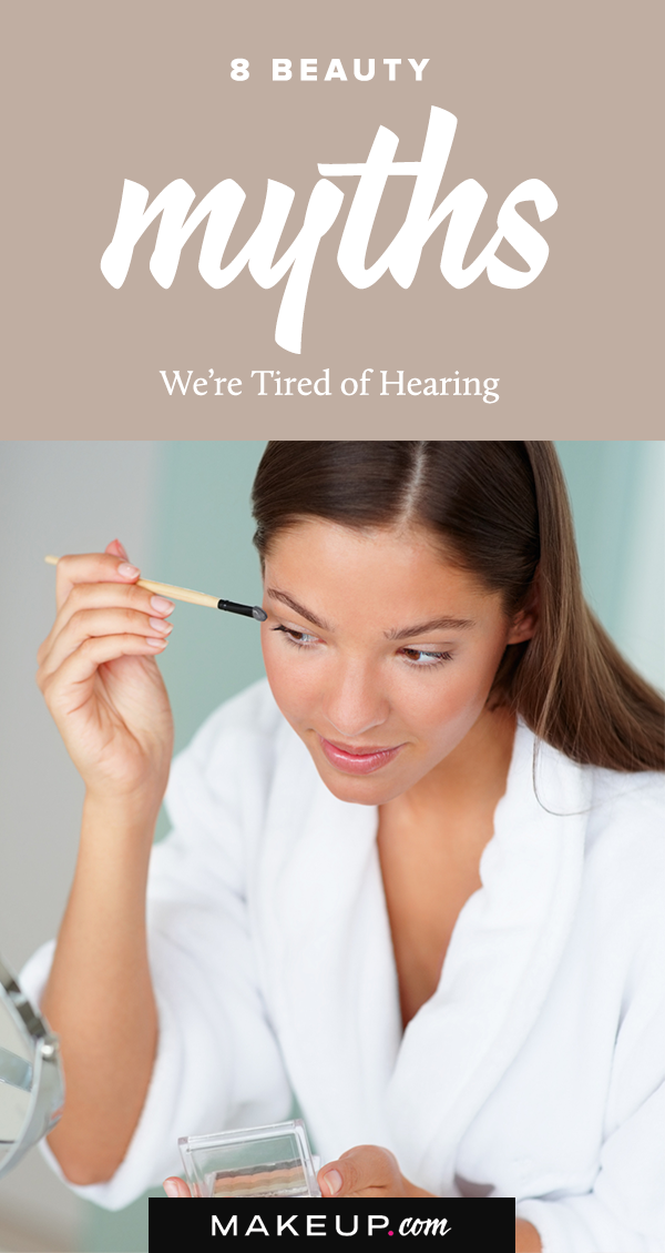 You can't aways believe everything you hear, especially when it comes to beauty and skincare. In life, there are common beliefs and unspoken rules that most people abide (and live) by, but in the world of makeup, many of these rules are unfounded. I'm here to separate fact from fiction for the makeup myths we are tired of hearing!