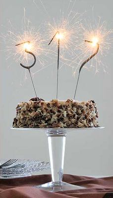 Sparkler Candles Rare Amp Beautiful Treasures Adult Birthday Cakes Cake Toppers