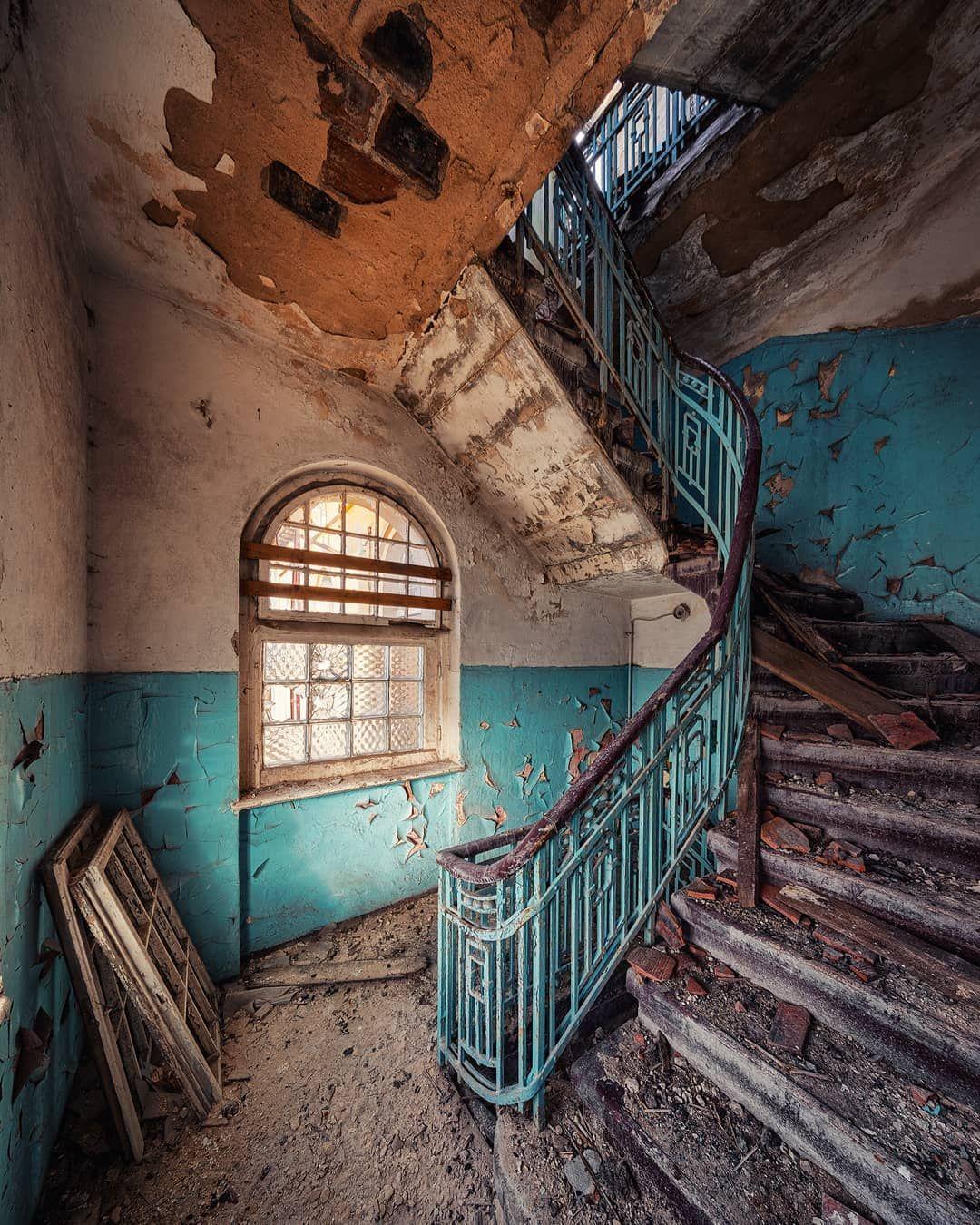 """Matthias Haker On Instagram: """"Staircase Inside An"""